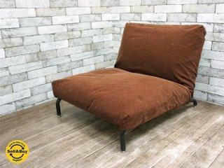 ジャーナルスタンダードファニチャー Journal Standard Furniture ロデ RODEZ ソファ カバーリング 替えカバー付き デニム コーデュロイ B ●