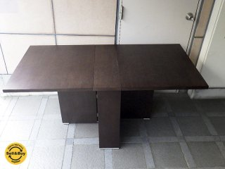 モーダエンカーサ / moda en casa バタフライテーブル 『 2+2 Table ( ライトウェンジカラー ) 』 廃盤希少160サイズ ★