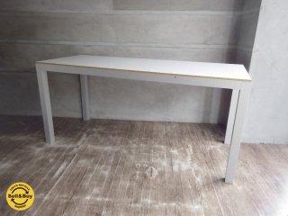 無印良品 MUJI / ホワイト メラミントップ デスク テーブル   ♪