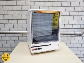 アマダナ amadana オーブントースター ホワイト TT-111 ウッド取っ手 希少 ■