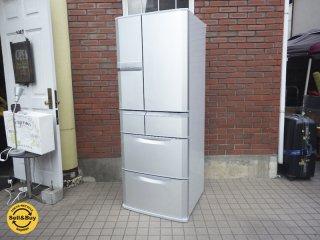 三菱 MITSUBISHI 501L 冷凍冷蔵庫 シルバー MR-E50R-S ●