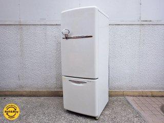 ナショナル National ウィル WiLL 冷蔵庫 162L 2003年製 アメリカンスタイル ●