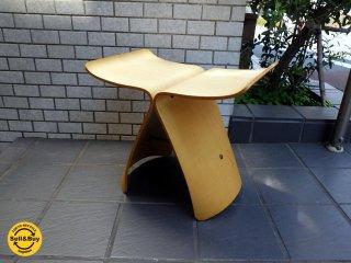天童木工 Tendo バタフライスツール メープル 柳 宗理 MoMA ■