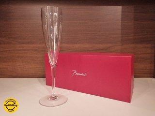 バカラ Baccarat ドンペリニヨン シャンパンフルート 箱付 A ●