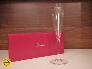バカラ Baccarat ドンペリニヨン シャンパンフルート 箱付 B ●
