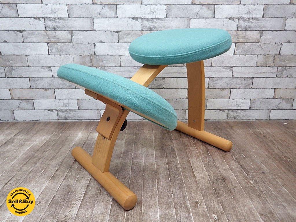 リボ  Rybo バランス イージー チェア 学習椅子 北欧 ライトグリーン ノルウェー ●