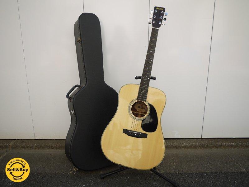 モーリス morris アコースティックギター W-25 ハードケース付 ◎