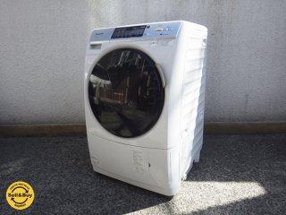 パナソニック / Panasonic 『 プチドラム 7kg 洗濯乾燥機 』 NA-VD130L 2014年製 ●