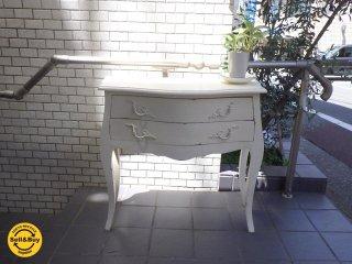 クラシックスタイル シャビーシック コンソール テーブル デスク アンティーク ビンテージ ■