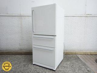 無印良品 / MUJI 『 246L 冷凍冷蔵庫 M-R25B 』 深澤直人 デザイン 希少廃盤 取扱説明書付 ●