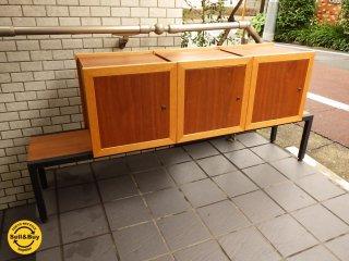 オガタ/OGATA オリジナル家具 スリーボックス ベンチ スツール インテリア・店舗デザイナー:尾形欣一氏 ■