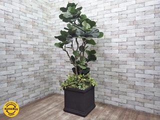 フェイクグリーン 人工観葉植物 造花 大型 インテリア A ●