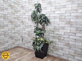 フェイクグリーン 人工観葉植物 造花 大型 インテリア D ●