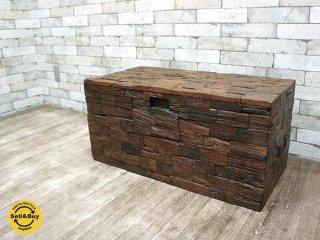 journal standard Furniture / ジャーナルスタンダードファニチャー 『 breda box チーク材 古材 ビンテージスタイル シャビーシック 』 ★