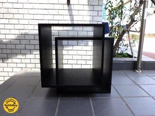 展示品 カッシーナ イクスシー Cassina ixc. レッタ RETTA サイドテーブル キューブ ボックス ■