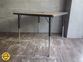 バルコ社 Virco 4000 正方形 昇降式テーブル ワークデスク ダイニングテーブル US アメリカ ♪