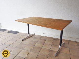 グリニッチ / greeniche チーク材 オリジナル カフェテーブル  W120 ◇