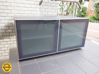 アルフレックス arflex コンポーザー COMPOSER AVボード TV台 ガラス扉 イタリア モダン ■