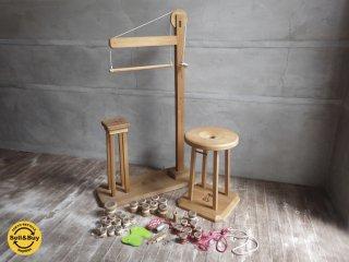 組紐の組台 丸台 角台 / おもり / 糸 日本伝統工芸 / 雅流 組紐 ♪