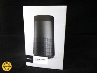 未使用保管品 ボーズ BOSE SoundLink Revolve Bluetooth speaker ポータブル トリプルブラック ワイヤレス ■