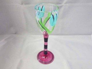 コスタボダ KOSTA BODA アトリエ ATELIER  ウルリカ TULIPA / チューリッパ ゴブレット グラス ■