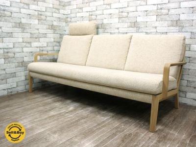カリモク / karimoku 『 長椅子 / アームソファ 3人掛け WU4503WE 』 ●