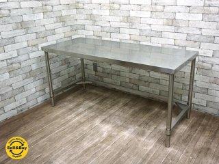 アートスタイルマーケット  Art Style Market ステンレス製 デスク テーブル COM-AJ w144cm インダストリアル ●