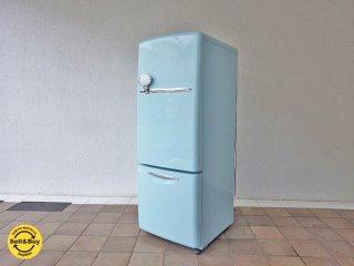 ナショナル National ウィル WiLL 冷蔵庫 ターコイズカラー 162L 2004年製 ◇