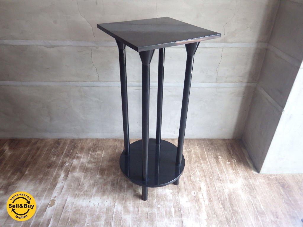 カルテル Kartell / 花台 フラワースタンド 飾り台 サイドテーブル ブラック ♪