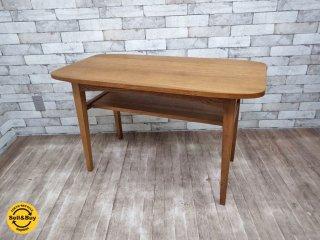 ウニコ unico クルト KURT カフェテーブル オーク材 北欧スタイル ●