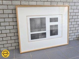 中村未来 リトグラフ  1/6 版画 額装 現代作家 アート Cassina IXC 取扱 ■