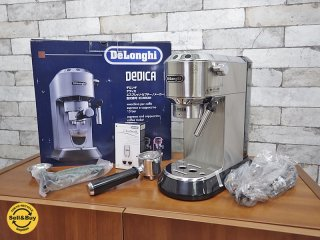 デロンギ DeLonghi デディカ エスプレッソ カプチーノメーカー EC680M 未使用品 ●