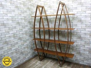 アスプルンド ASPLUND モンド MONDO ブックラック オープンシェルフ 飾り棚 ビーチ材 定価14万 ●