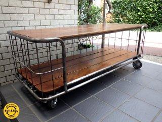 ノットアンティークス Knotantiques マラン MALAN テーブルラック コーヒーテーブル 幅120cm CRASH GATE ■
