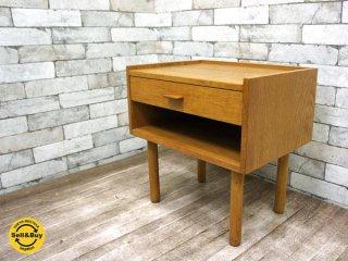 RY Mobler ベッドサイドテーブル サイドチェスト オーク材 ハンス J ウェグナー デザイン ●