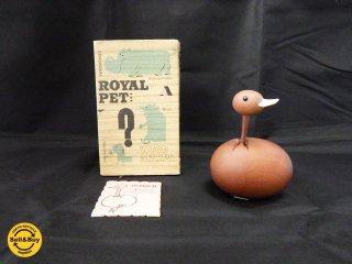 ロイヤルペット ROYALPET  オーストリッチ Ostrich 木製玩具 オブジェ ■