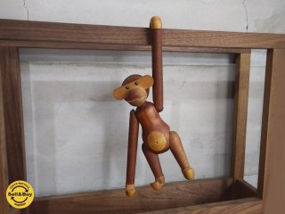 カイ・ボイスン Kay Bojesen ローゼンダール ROSENDAHL モンキー The monkey デンマーク 木製玩具 ♪