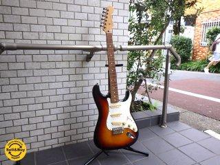 Fender フェンダージャパン ストラトキャスター ST-43 3TS/R サンバースト 付属完備 ■