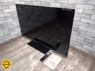 シャープ SHARP アクオス AQUOS 52インチ LC-52Z5 3D対応 液晶カラーテレビ ●