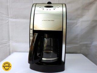 クイジナート Cuisinart オートグラインド ミル&タイマー付 コーヒーメーカー DGB-550BK 12 Cupまで ■