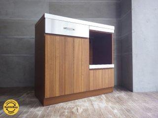ウニコ unico ストラーダ STRADA キッチンカウンター オープン 幅90cm ♪