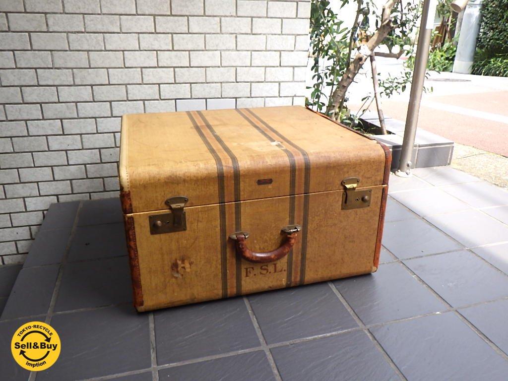 ビンテージ ハートマン HARTMANN SKY-ROBE スタッキング トランク スーツケース 木製フレーム ■