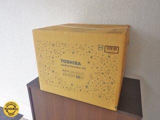 東芝 TOSHIBA 石窯ドーム スチームオーブンレンジER-KD7 W グレイウィッシュホワイト 未使用・未開封◇