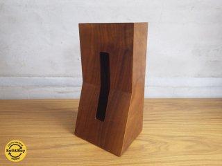 デュエンデ DUENDE STAND WOOD 木製スタンド ティッシュボックスホルダー ♪