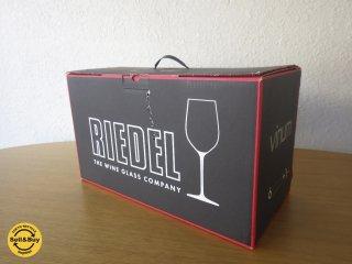 リーデル /  RIEDEL  ヴィノム /  Vinum ボルドー ワイングラス 6 & シラー デキャンタ セット 5416/58 未使用品 ◇