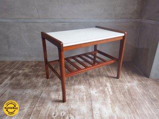 オールドカリモク レトロ コーヒーテーブル サイドテーブル ♪