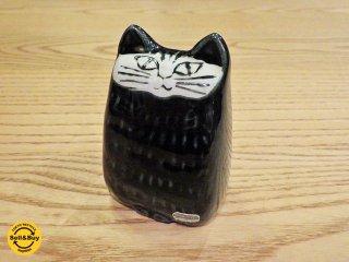 グスタフスベリ GUSTAVSBERG Liten Katt ネコ ダークグリーン ビンテージ リサ・ラーソン ■
