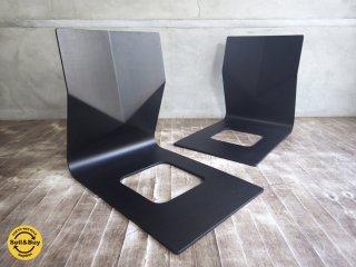 天童木工 Tendo 座椅子 T-5812MR-BX メランティ材 スタッキング仕様 2台セット♪