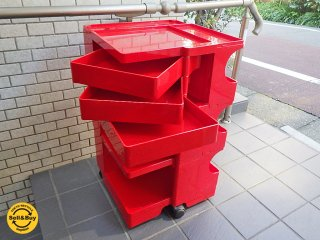 ビーライン B-LINE ボビーワゴン 3段3トレー レッド ジョエ・コロンボ メトロクス ■