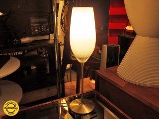 ヤマギワ yamagiwa Kエムテック ガラスシェード テーブルランプ シャンパングラスデザイン ■